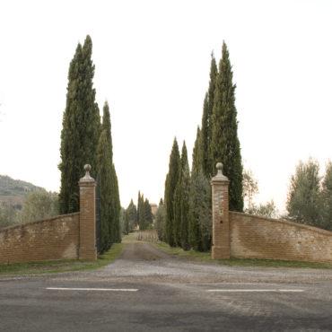 Cancello di ingresso Aienda Fuligni